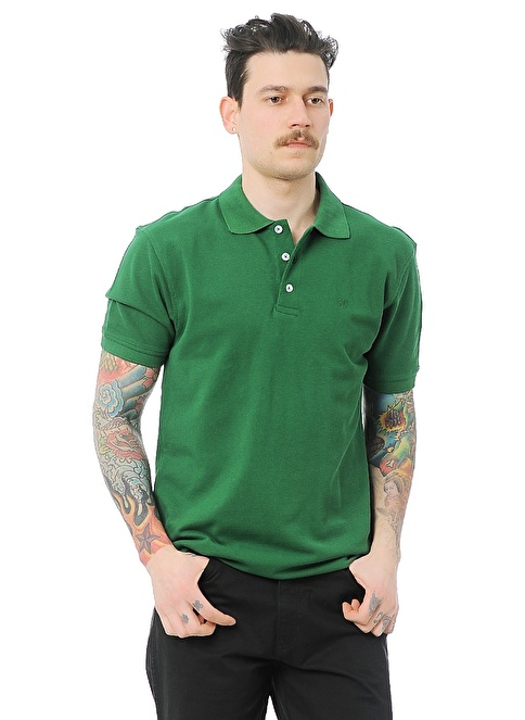 Wrangler Polo Yakalı  Tişört Yeşil